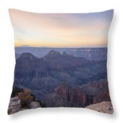 North Rim Sunrise 2 - Grand Canyon National Park - Arizona Throw Pillow