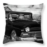 North Rustico Vintage Car Prince Edward Island Throw Pillow