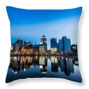North Shore Evening Throw Pillow