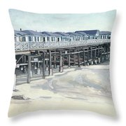 Here And Beyond Throw Pillow