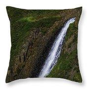 North Table Mountain Falls Throw Pillow