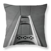 North Tower Throw Pillow