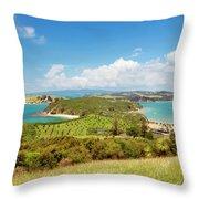 North Tower Viewpoint Rotoroa New Zealand Throw Pillow