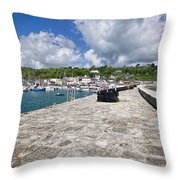 North Wall - Lyme Regis Throw Pillow