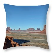 North Window View Throw Pillow