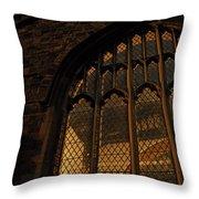 Northampton Church At Dusk Throw Pillow