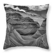 Northern Arizona Desert Swirls Throw Pillow