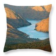 Northern Arizona Lake Mead Throw Pillow