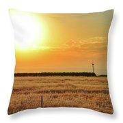 Northern California Sunrise Throw Pillow