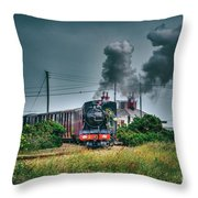 Northern Chief Throw Pillow