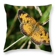 Northern Crescent Throw Pillow