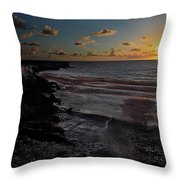 Northern Dawn Throw Pillow