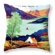 Northern Ireland, Scenery, Tours And Excursions Throw Pillow
