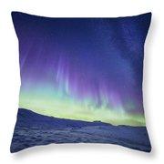 Northern Light Throw Pillow
