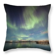 Northern Light Xiv Throw Pillow