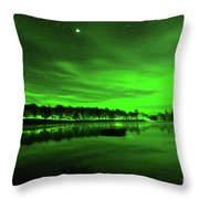 Northern Lights 3 Throw Pillow