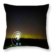 023 - Night Writing Throw Pillow