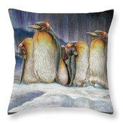 Northern Lights - Goodnight Throw Pillow