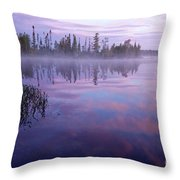 Northern Morning Beauty Throw Pillow