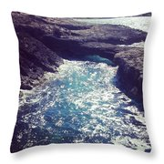 Northern Seas Throw Pillow