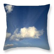 Northern Sky Throw Pillow