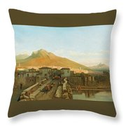 Northern Spain Throw Pillow
