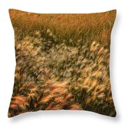 Northern Summer Throw Pillow