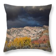 Northern Uintas Autumn Throw Pillow