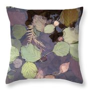 Northern Waters, Autumn Throw Pillow