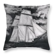 Northern Winds Throw Pillow