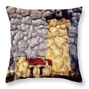 Northhead Lighthouse Throw Pillow