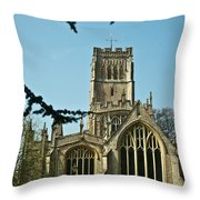 Northleach St Peter St Paul 2 Throw Pillow