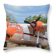 Northrop Raider Throw Pillow