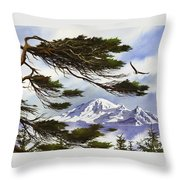Northwest Majesty Throw Pillow