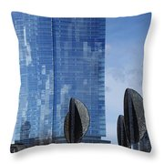 Northwestern Mutual Tower - Milwaukee Wisconsin 2017 Throw Pillow