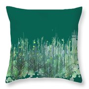 Northwoods Throw Pillow by Gina Harrison