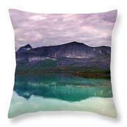 Norway Panorama Throw Pillow