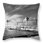 Norwegian Epic Visit Throw Pillow