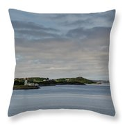 Norwegian Islands Throw Pillow