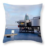 Norwegian Petroleum Museum Throw Pillow