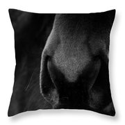Nose Best Throw Pillow