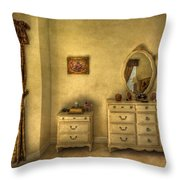 Nostalgic Harmonies  Throw Pillow