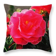Not A Rose Throw Pillow