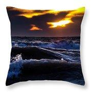 Not A Storm Throw Pillow