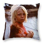 Not An Orphan Throw Pillow