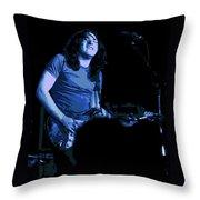 Not Awake Yet Blues 2 Throw Pillow