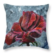 Not Every Rose Is Perfect Throw Pillow