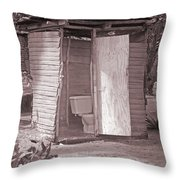Not For The Faint-hearted Throw Pillow