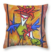 Not Gonna Tell You Again Throw Pillow
