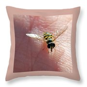 Not Hovering Throw Pillow